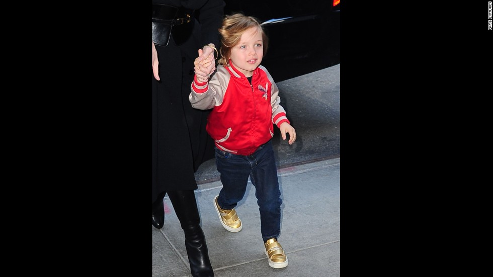 "Now 7, Shiloh Jolie-Pitt has caught the eye of photographers for her independent sense of style. The middle Jolie-Pitt's preference for short hair has made her <a href=""http://www.usmagazine.com/celebrity-beauty/news/shiloh-jolie-pitt-6-looks-all-grown-up-with-new-haircut-2013192"" target=""_blank"">a regular feature in celebrity magazines</a>."