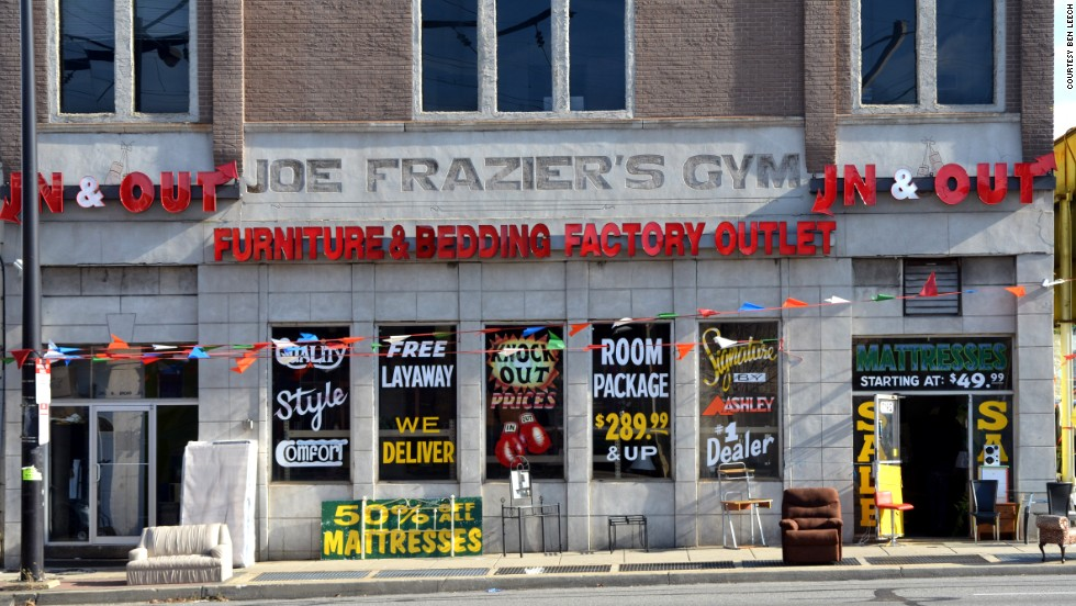 In 1968, Joe Frazier turned a three-story structure into his personal gym, living upstairs and training downstairs. The structure was on the brink of oblivion until this year, when it was added to the National Register of Historic Places.