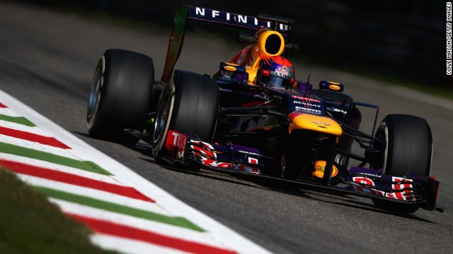 Germany's Sebastian Vettel has won the Italian Grand Prix twice during his career.