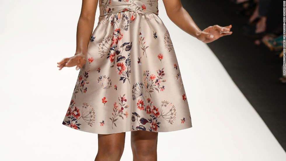 Kerry Washington walks the runway during New York Fashion Week on September 6.