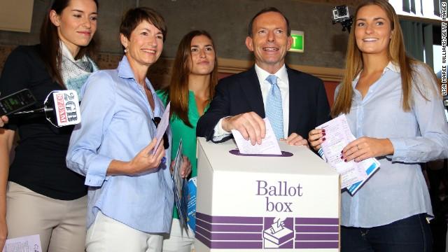 Polls open In Australia