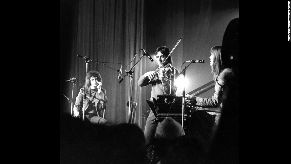 Lou Reed, John Cale, Sterling Morrison and Maureen Tucker (with drop-bys from Nico and Doug Yule) combined raw instrumentation with avant-garde subject matter. The apocryphal story goes that only 3,000 people bought the Velvet Underground's first album, but every one of them formed a band. (Actually, the album did much better than that, but why mess with a good story?) Many of those bands were proto-punks.