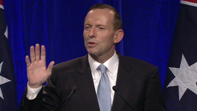 Victory for Tony Abbott in Australia
