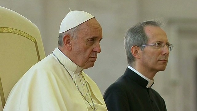 Pope Francis's vigil for peace in Syria