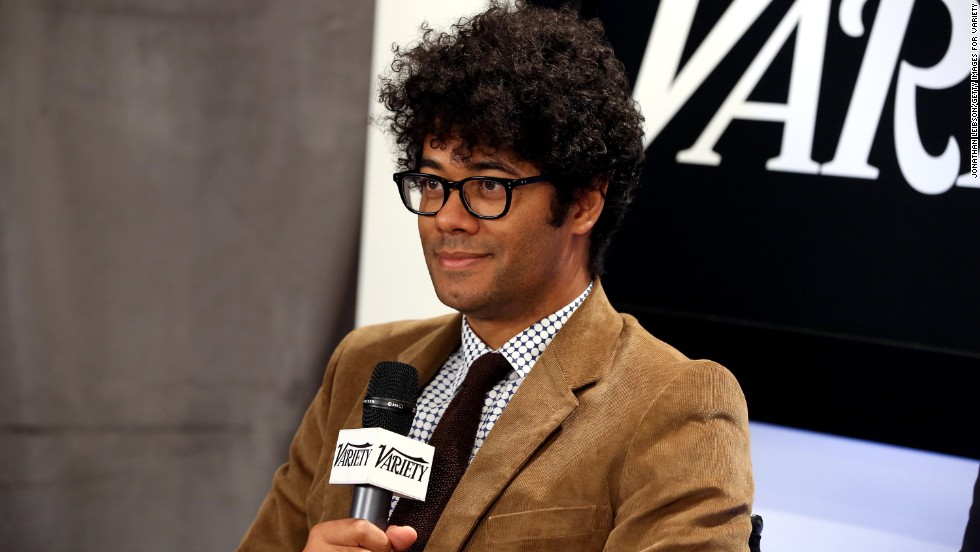 Actor Richard Ayoade appears at the Variety Studio at Holt Renfrew on September 7.