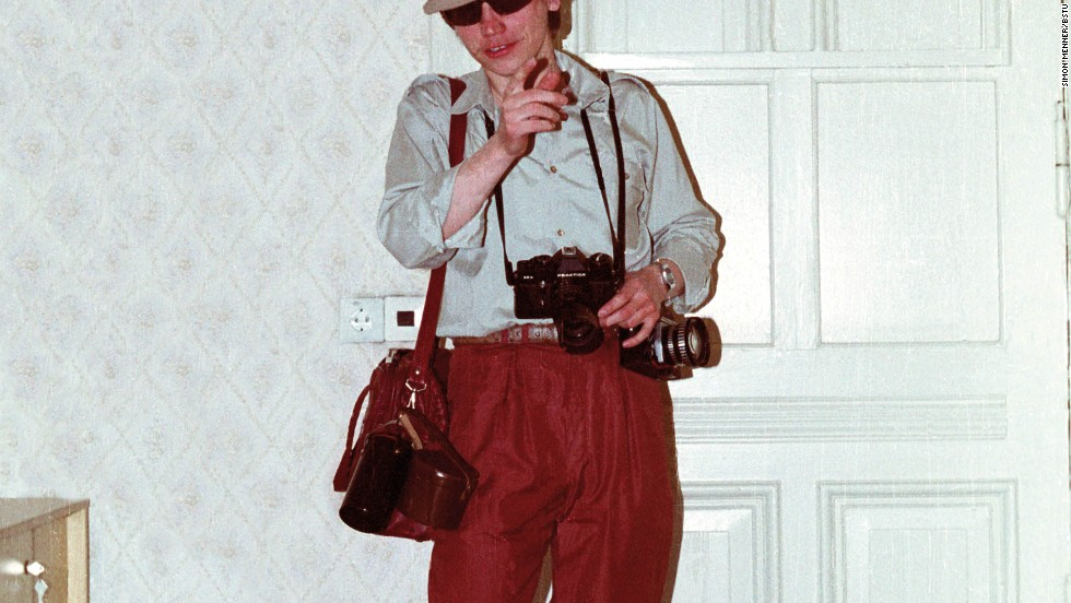 "Disguises as tourists were often used to help agents appear ""inconspicuous"" in places frequented by Westerners. Props such as plastic shopping bags and cameras were often used."