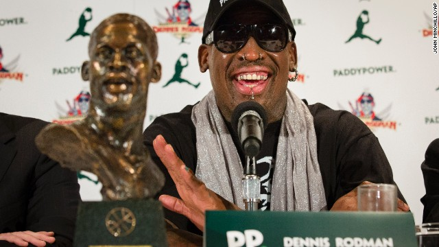 Rodman to Obama: Let's talk
