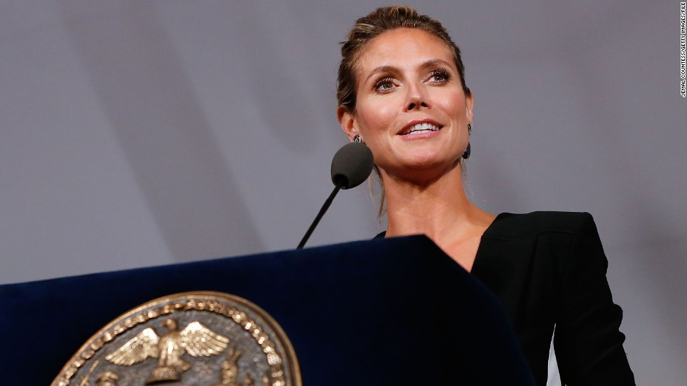 Much like Bundchen and Kerr, German-born Heidi Klum was a Victoria's Secret model before launching her own line of clothing, beauty products, and jewelery.