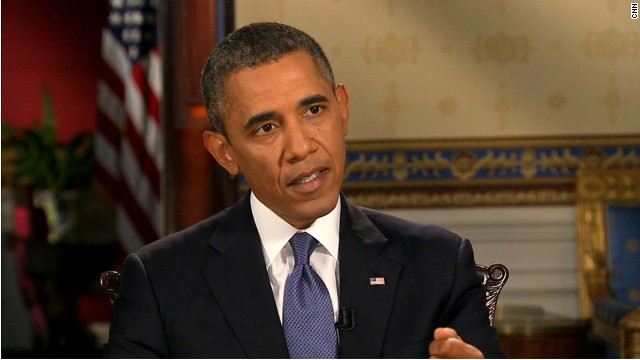 What should Pres Obama say about Syria?