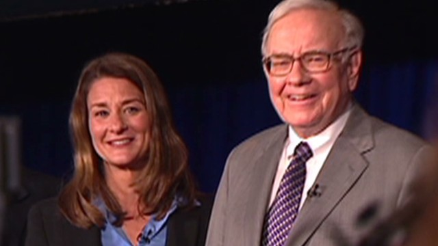 Warren Buffett's advice to Melinda Gates