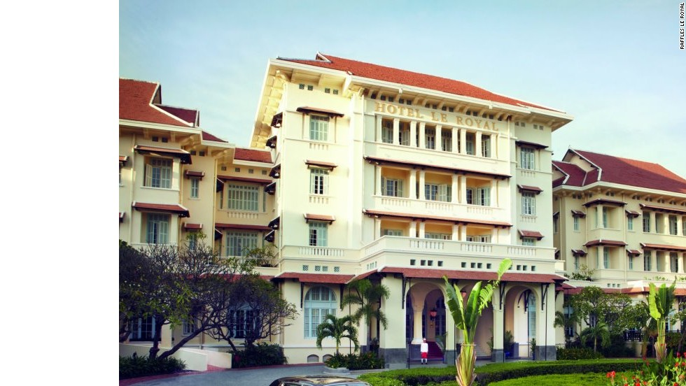Phnom Penh's most luxurious hotel is the Raffles Hotel Le Royal. Opened in 1929, it's welcomed former U.S first lady Jacqueline Kennedy. Despite the finery, rooms can be had from $180 per night.