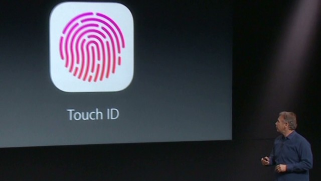 iPhone 5S has fingerprint technology