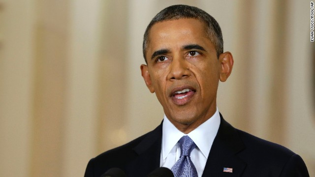 President Barack Obama addressed the nation about Syria on Tuesday.