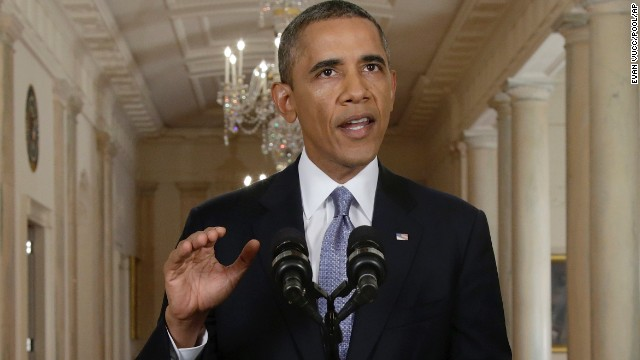 Obama: Assad regime is not a threat