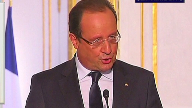 France offers diplomatic help with Syria
