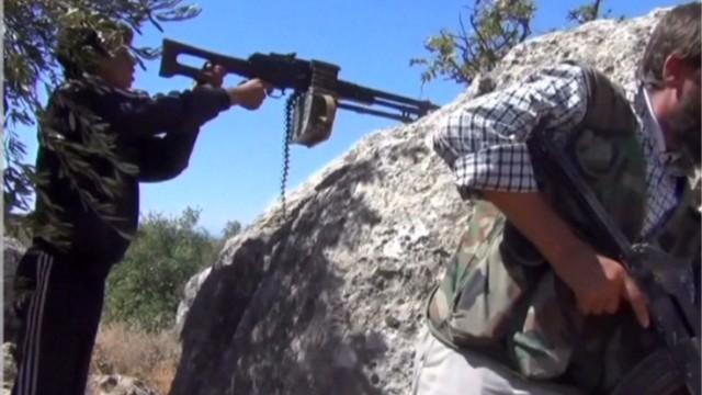 While world debates, Syrian war continues