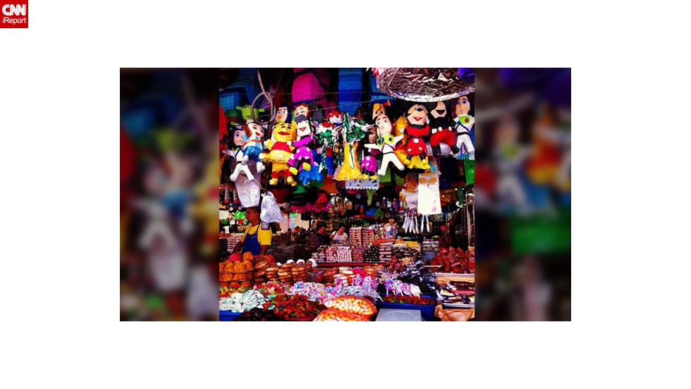 "These colorful piñatas in in Tijuana, Mexico were captured by Ferla García during the Mexican Independence Day celebrations in 2012. The 37-year-old was born in Mexico City but moved to the U.S. when she was 21, but three years ago she moved back. ""In the United States, I felt like 5 de Mayo was more important than our Independence Day, and I always missed the Independence celebration.  Now that I am back living in Mexico, I appreciate so much the celebration, it is so much fun!"" she said."