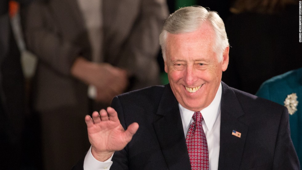 House Minority Whip Steny Hoyer of Maryland is responsible for rounding up for votes on the Democratic side.