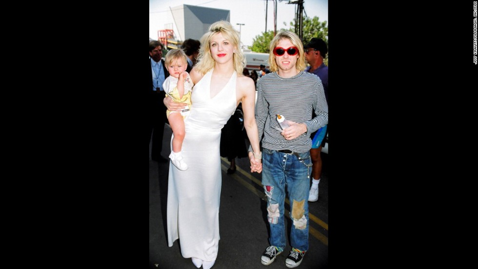 "Few couples typify the '90s like Cobain and his wife, Courtney Love. With Cobain being the pied piper of Seattle grunge and Love the rebellious other half, the two -- along with their daughter, Frances Bean -- were rock royalty in 1993. Frances Bean, <a href=""http://www.hedislimane.com/rockdiary/index.php?e=viewSpe&rockdiarySpeHomeNo=57"" target=""_blank"">who greatly resembles her late father,</a> is now in her 20s, an artist and<a href=""https://twitter.com/alka_seltzer666"" target=""_blank""> active Twitter user. </a>She and Love<a href=""http://www.huffingtonpost.com/2015/01/25/frances-bean-cobain-courtney-love_n_6542494.html"" target=""_blank""> recently attended a documentary on Kurt Cobain at Sundance</a>."