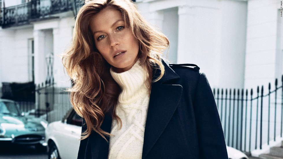 Brazilian Gisele Bündchen topped this year's Forbes list of richest models, earning $42 million thanks to endorsement deals with H&M (pictured), Chanel, Pantene, and footwear company Grendene.