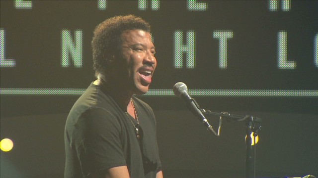 Lionel Richie rehearses for U.S. tour