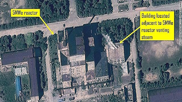 North Korea nuclear reactor restarted?