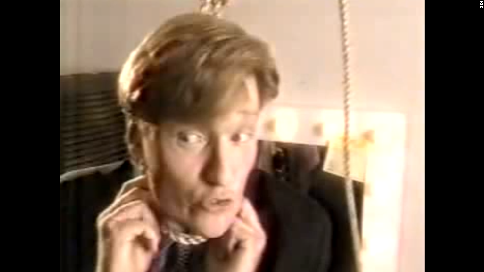 """Conan O'Brien introduced us to his wry mix of self-deprecating humor in September 1993, when he took over """"Late Night"""" from David Letterman. After hearing repeatedly how much pressure was on him to be as funny as his predecessor, O'Brien good-naturedly accepted the ribbing before walking into his office to put a noose around his neck."""