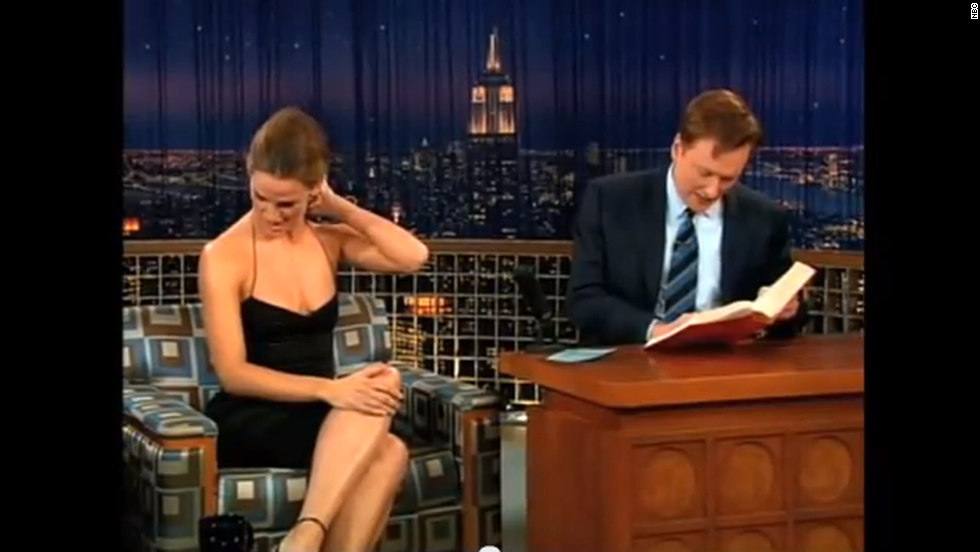 "Jennifer Garner was infamously corrected by Conan O'Brien when she tried to tell him that ""snuck"" isn't a word. ""Snuck isn't a word, Conan,"" Garner said in an aside during an anecdote. ""You went to Harvard, you should know that."" <a href=""http://www.youtube.com/watch?v=q51ld-scMI8"" target=""_blank"">O'Brien responded by whipping out a dictionary</a>, locating the entry for ""snuck"" and giving the ""Alias"" actress an education on its definition."