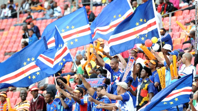 Cape Verde have never qualified for the World Cup, football's most prestigious competition.