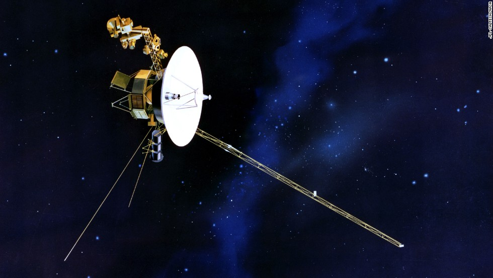 "<a href=""http://www.cnn.com/2013/09/12/tech/innovation/voyager-solar-system/"" target=""_blank"">The Voyager 1 probe</a> became the first human-made object to leave the solar system."