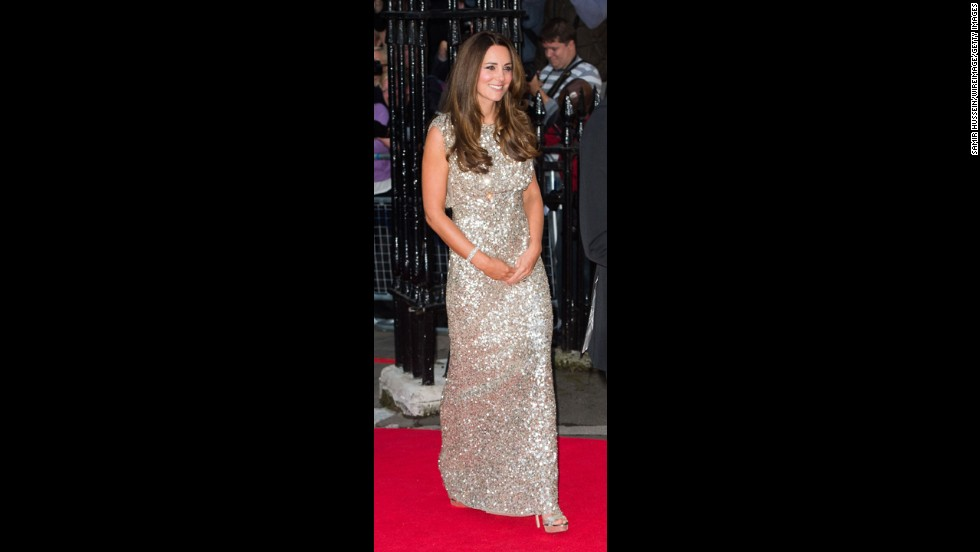 Catherine, Duchess of Cambridge attends the Tusk Trust Conservation Awards at The Royal Society on Thursday, September 12, in London.