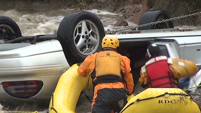 Rescuer: We hoped for the best in flood