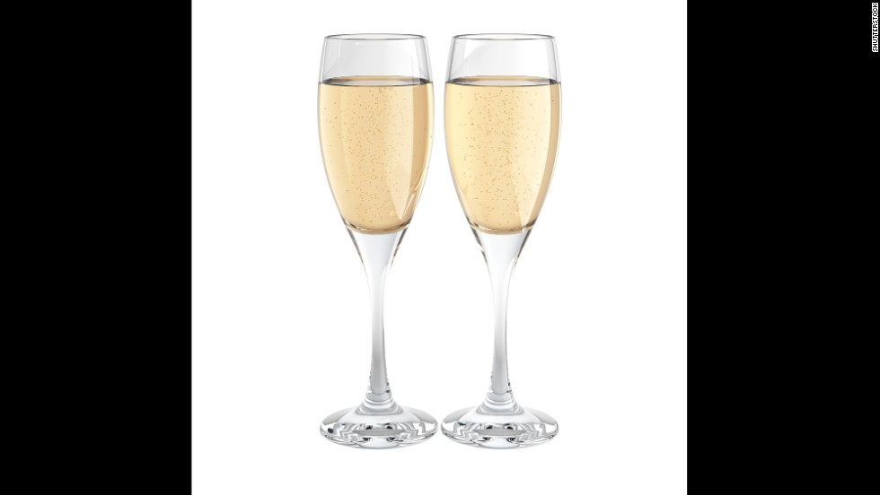 Wedding planners say full glasses of Champagne are routinely left un-sipped. Skip the Champagne toast and just have it as option at the bar, or offer sparkling cider.