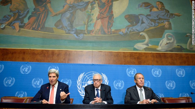 Is Syrian government moving weapons?