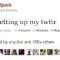 first tweet dorsey