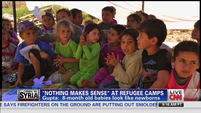 Displaced Syrians in Lebanon
