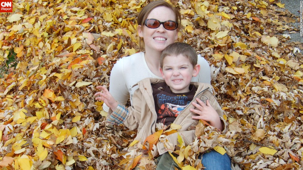 Crookston says having an only child gives her son the advantage of having mom's undivided attention at playtime.