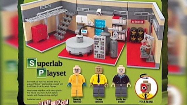'Breaking Bad' meth lab playset