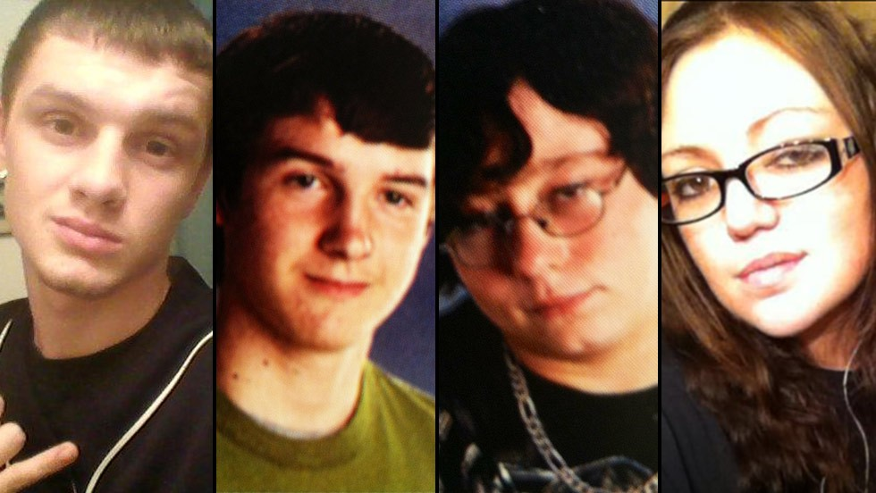 Dominic Davis, John Lajeunesse, Steven Presley and Rikki Jacobsen were found dead Thursday in a car in Cumberland County, Tennessee.