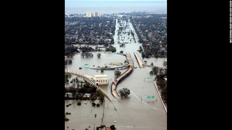 Unforgettable Hurricane Katrina devastated the Gulf Coast in 2005, making landfall near Buras, Louisiana, on August 29 as a Category 3 storm with maximum winds estimated at 125 mph. Katrina was blamed for more than 1,200 reported deaths in Louisiana, Mississippi and Florida. Estimated property damage: $75 billion, the costliest U.S. hurricane on record.