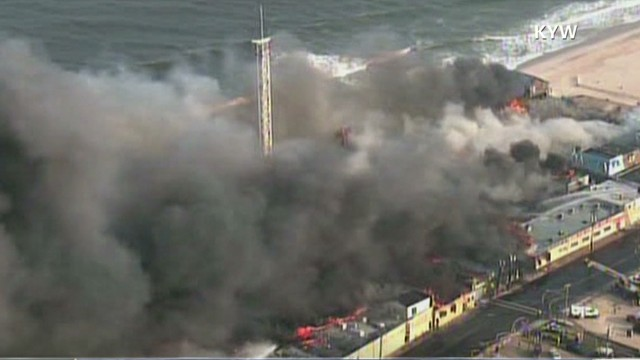 Tears and ashes on the Jersey Shore