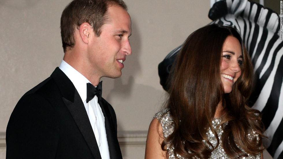The royal couple attends the Tusk Conservation Awards at the Royal Society in London in September 2013.
