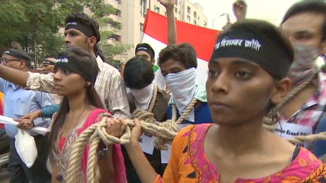 India gang rape: Four sentenced to death
