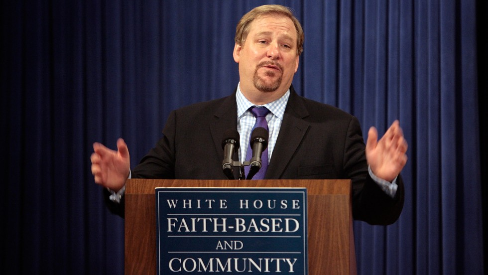 Warren speaks during the White House Roundtable on Faith-Based and Community Solutions to Combat HIV/AIDS in Washington on December 12, 2007. The theme of the roundtable was to show that religious organizations are a key component in the global fight against HIV/AIDS.