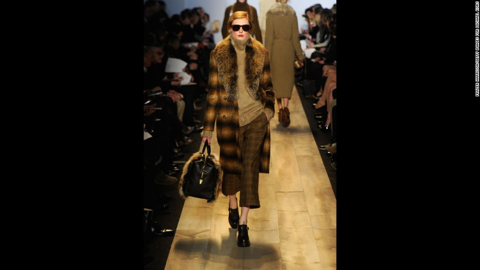 Michael Kors' fall 2012 show during New York Fashion Week in February 2012.