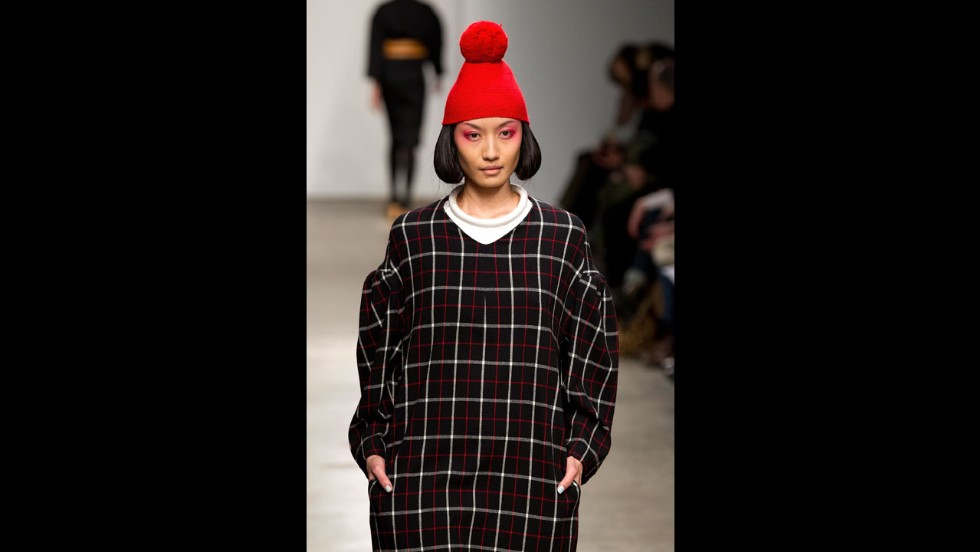 The A Detacher fall 2012 show during New York Fashion Week in February 2012.