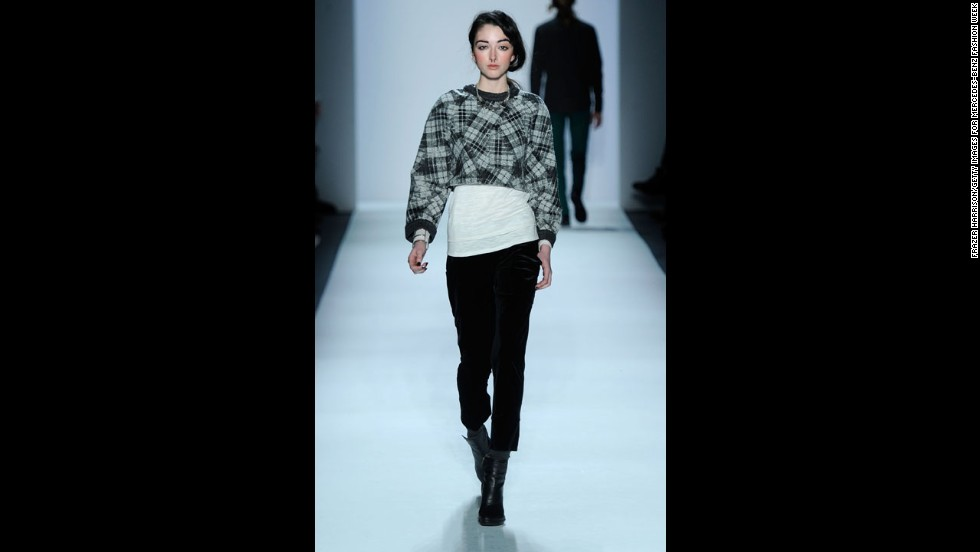 The Timo Weiland fall 2012 fashion show during New York Fashion Week in February 2012.