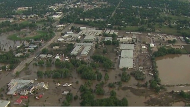 Colorado ravaged by floods