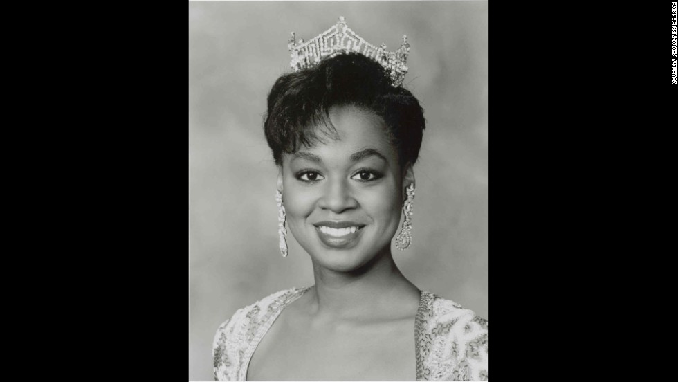 Marjorie Judith Vincent, formerly Miss Illinois, was crowned in 1991.
