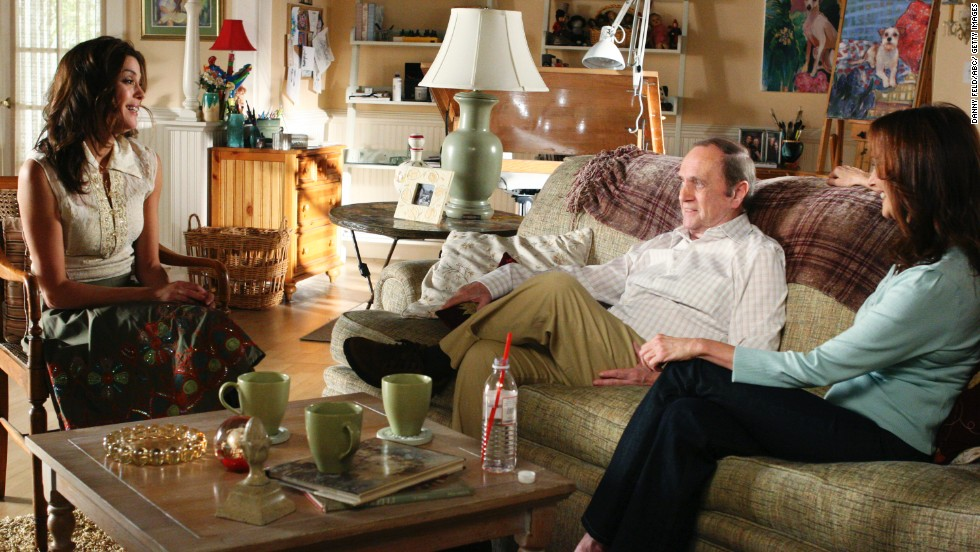 "In the show ""Desperate Housewives,"" Newhart guest stars as Morty Flickman."